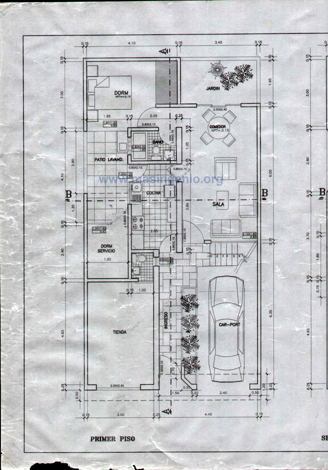 Lucas horacio pintor plomero alba il instalador for Como leer planos arquitectonicos pdf