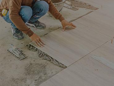 Instalação de piso sobre piso - cerâmico