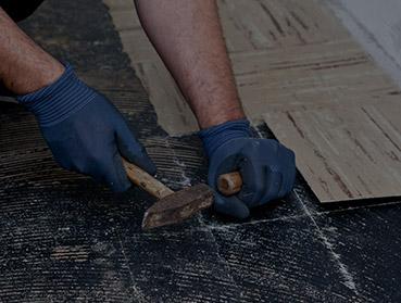 Remoção de piso instalado - porcelanato ou cerâmico