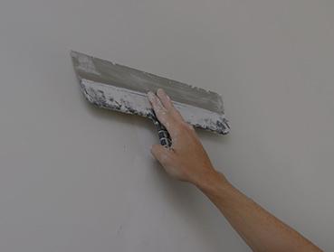 Preparação de paredes ou superfícies