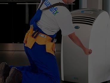 Instalação de ar condicionado portátil