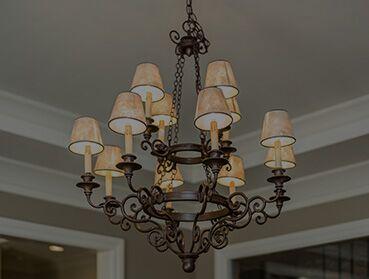 Instalação de lustre, luminária ou pendente novo de até R$500